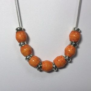 Jewelry - Necklace with handmade beads